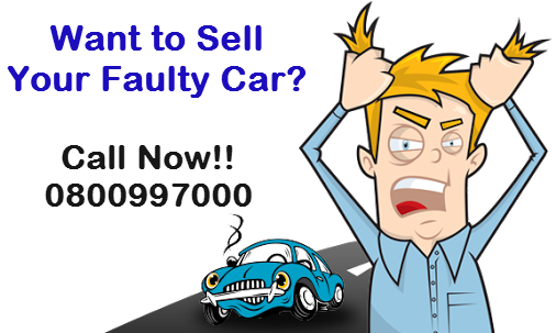 Sell Faulty Car