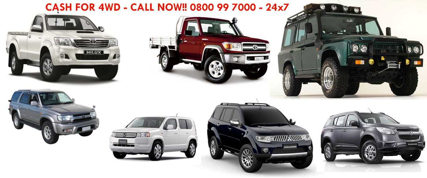 Cash for 4WD