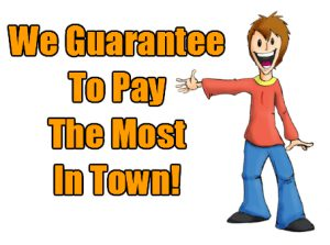 Most Cash For Cars In Town, Instant Cash for cars, Top Money for Cars